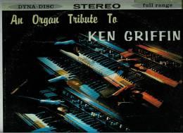 KEN  GRIFFIN  * A HAMMOND ORGAN TRIBUTE * - Instrumental
