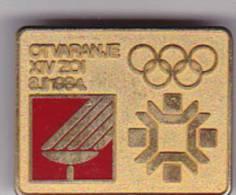 YUGOSLAVIA , BOSNIEN  -  JEUX OLYMPIQUES  --  SARAJEVO 1984  --  OTVARANJE (EROFFNUNG, OPENING CEREMONY, - Olympische Spiele