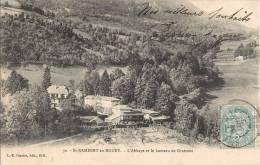 SAINT-RAMBERT-EN-BUGEY L'ABBAYE ET LE HAMEAU DE GRATTOUX 01 AIN - France