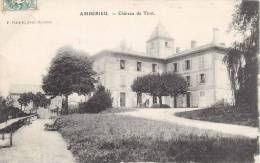AMBERIEU CHATEAU DE TIRET 01 AIN - Francia
