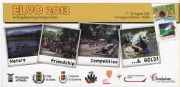 Alt232 Cartolina Promozionale, Flyer, Campionati Mondiali Cercatori Oro, Gold Panning Championship, Buscadores Oro, 2013 - Cartes Postales