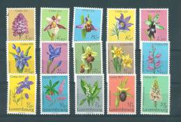 Luxembourg: 864/868-886/890-907/911  Xx Fleurs - Luxembourg