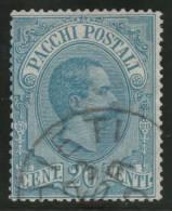 ITALIA 1884/86 - Yvert #2 (Paquetes Postales) - VFU - 1878-00 Humbert I.