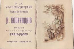 Calendrier - Année 1931 - Ville De Longchamp Paris Passy - Cueillette Cerises - Calendriers