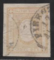 ITALIA 1862 - Yvert #1 (Taxas) - VFU - 1861-78 Victor Emmanuel II.