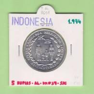 INDONESIA    5   Rupias 1.974  AL   KM#37   SC/UNC    DL-8601 - Indonesia