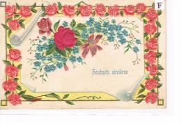 Cpa Fantaisie , Gauffré .   (016) - Fancy Cards