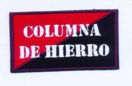 Parche Columna De Hierro. Anarquista. República Española. Guerra Civil. - Escudos En Tela