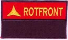 Parche Frente Rojo Internacional. Brigadas Internacionales. República Española. Guerra Civil. - Escudos En Tela