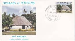 Wallis Et Futuna - Env 1 Jour - Habitat 1983  - FDC - FDC
