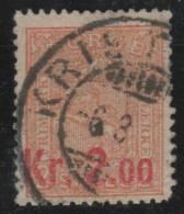 NORUEGA 1905/08 - Yvert #62 - VFU - Noruega