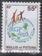 WALLIS Et FUTUNA 2003 - Poste Yvert N° 602 - Neuf Sans Charnière- Recensement Population - Côte 1,20 € - Unused Stamps