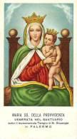 MARIA SS. DELLA PROVVIDENZA - PALERMO -  Mm. 58X105 - E - PR - Religione & Esoterismo