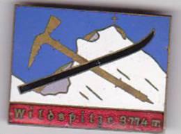TIROL  --  WILDSPITZE 3774 M  -  31 X 23 Mm  -  EMAIL, ENAMEL - Alpinismus, Bergsteigen