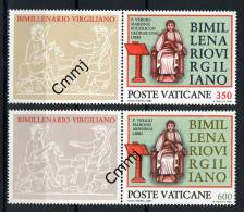 1981 - VATICANO - VATIKAN - Sass. 688/689 - Bimill. Virgiliano - MNH - Stamps Mint - Neufs