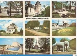 CP Sainte Geneviève Des Bois Ste 91 Essonne Multivues Multi Vues Piscine Lycée - Sainte Genevieve Des Bois