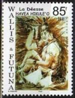WALLIS Et FUTUNA 2004 - Poste Yvert N° 614 - Neuf Sans Charnière - Déesse Havéa Hikulé´o - Côte 1,50  € - Unused Stamps