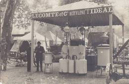 Commerce - Carte-Photo - Foire Exposition - Lecomte Et Cie - Acéthylène Chauffage - Matériel Agricole  - A Situer - Fiere