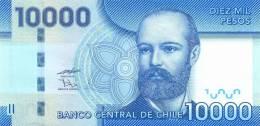 CHILE   10.000  PESOS  2.009  (2010)   SC/UNC/PLANCHA     DL-9731 - Chile