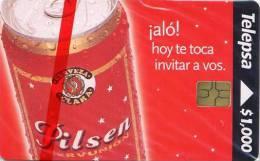 Lote TT178, Colombia, Tarjeta Telefonica, Phone Card, Telepsa, Pilsen, 1.000, Mint - Colombia