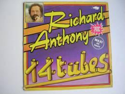 "MAXI -   - RICHARD ANTHONY  -  PATHE 52910 "" 14 TUBES "" J'ENTENDS SIFFLER LE TRAIN "" + 1 - 45 T - Maxi-Single"