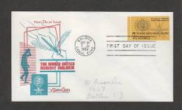 CANAL ZONE - 24 9 1962 FDC MALARIA - Disease