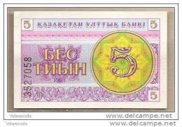 Kazakistan - Banconota Non Circolata Da 5 Tyiyn - 1993 - - Kazakistan