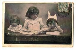 Petite Institutrice - Enfants Pas Sage, Bonnet D'âne 1905 Precurseur - - Niños