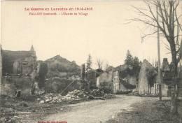 54 - La Guerre En Lorraine En 1914-1915 - VALLOIS Bombardé - L'Entrée Du Village - CPA - Frankreich