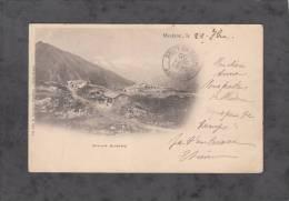 CPA Précurseur - MODANE - Paysage Alpestre - Refuge - 1900 - Editeur Reynaud à Chambery - Modane
