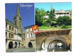 CARTE POSTALE COULEUR.........Monségur 2...... - France