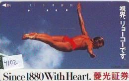 Télécarte Japon EROTIQUE (4102) EROTIC * Japan  EROTIK * BIKINI GIRL * BATHCLOTHES  * FEMME * SEXY LADY * MODEL* - Moda