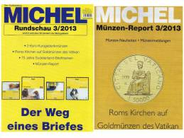 MICHEL Briefmarken Rundschau 3/2013 Neu 5€ New Stamps Of The World Catalogue Magacine Of Germany ISBN 4 194371 105009 - Allemagne