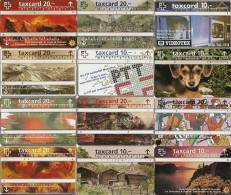 *SVIZZERA* -  Lotto Di 12 Schede Usate Differenti - Svizzera