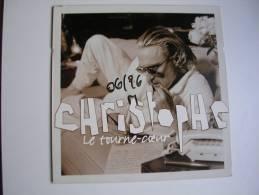 "MAXI -  CHRISTOPHE  -  EPIC 663156  "" LE TOURNE-COEUR ""  + 1 - 45 Rpm - Maxi-Singles"