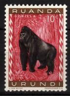 RUANDA URUNDI - 1959/61 YT 205 * - Ruanda