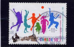 CANADA. 2005. USED # 2120, POLIO VACINATION  USED ,NICE POSTMARK  From CONCEPTION HARBOUR NEWFOUNLAND LABRADOR, CANADA - Used Stamps