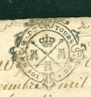 Cachet Généralité De TOURS DATE EN 1729  Sur Document 4 Pages  - Pho141 - Seals Of Generality