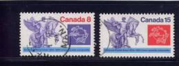 CANADA. 1974, USED # 649,   POSTAL UNION 100 TH ANNIV.         USED - 1952-.... Règne D'Elizabeth II