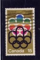 CANADA. 1973, USED # 624,   COJO SYMBOL         USED - 1952-.... Règne D'Elizabeth II