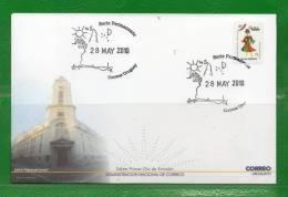 """320 URUGUAY 2009 FDC """"CARNAVAL"""" Vestuario Juan Mascherini-Temática,Topic : Difraces, Soles,Lunas,Estrellas,Mapa ,América - Uruguay"""