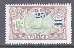 Saint-Pierre And Miquelon  123  * - Unused Stamps
