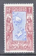 Saint-Pierre And Miquelon  136   ** - Unused Stamps