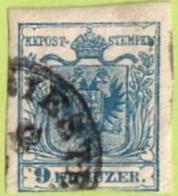 "AUT SC #5  1850 Coat Of Arms (""--IESTE""), CV $9.00 - 1850-1918 Empire"