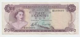 BAHAMAS 1/2 DOLLAR 1965 VF P 17 - Bahamas