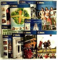 10 X Tchibo Reklame Prospekte Von 2007 - über 500 Seiten - Jede Woche Eine Neue Welt - Reklame