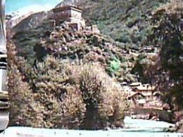 AOSTA CASTELLO VERRES  VB1964 TIMBRO  CAMPEGGIO GIOVANI COOPERTORI REGGIANI REGGIO EMILIA  EE13317 - Aosta