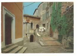 E2154 Fiuggi (Frosinone) - Piazza Santo Stefano Con Palazzo Del Capitano Del Popolo / Viaggiata 1985 - Italia