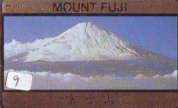 Télécarte Japon * Volcan MONT FUJI (9) Vulcan * Japan Phonecard * Vulkan Volcano * Telefonkarte * Mount Fuji - Montagnes
