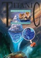 GUINEA 2012 - Titanic III S/S. Official Issue - Submarines